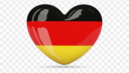 german heart flag